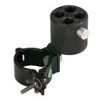 Wentex / Showtec  Angled bracket with 4-way con. & 50mm half coupler