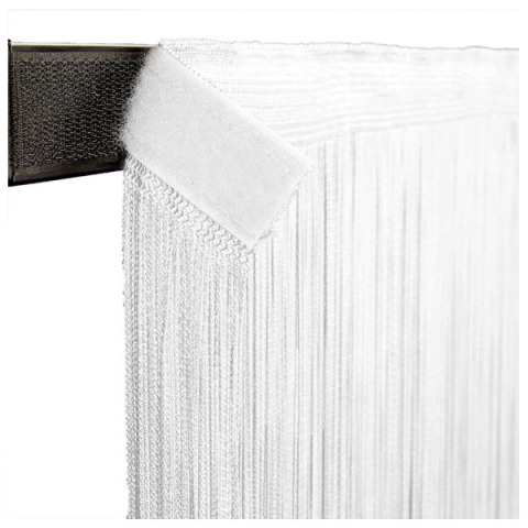 Wentex Pipe and Drape - String Curtain 3m x 3m White