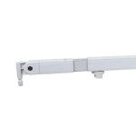 Wentex / Showtec Telescopic drape support 90(l)-->120(l)cm White
