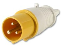 Yellow C Form Industrial Connectors