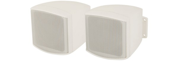 Adastra C25V-W 2.5 Inch Compact Passive Speaker Pair in White