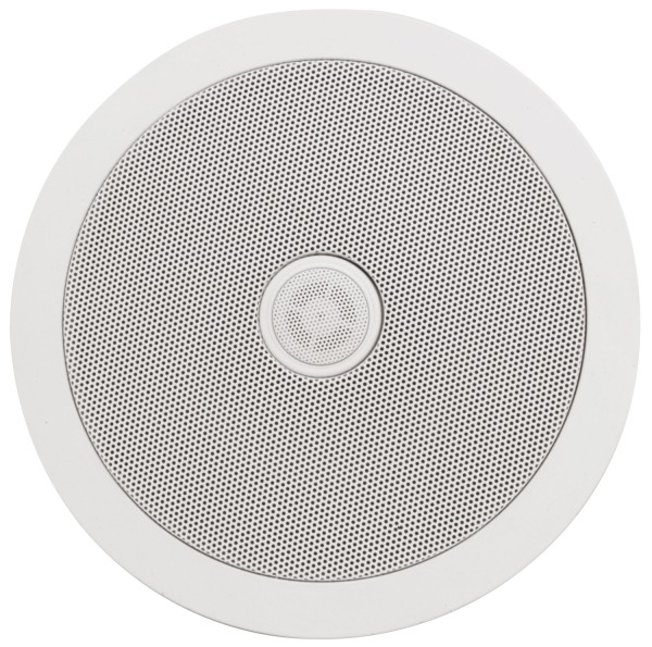 Adastra C6D 6.5 Inch Ceiling Speaker, 50W @ 8 Ohms with Directional Tweeter - White