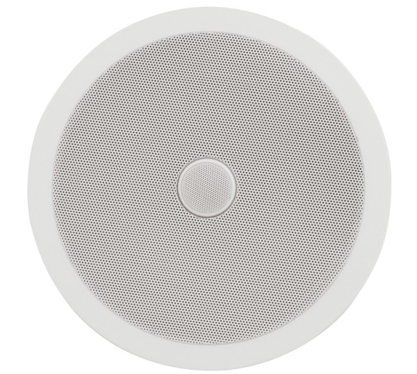 Adastra C8D 8 Inch Ceiling Speaker, 60W @ 8 Ohms with Directional Tweeter - White
