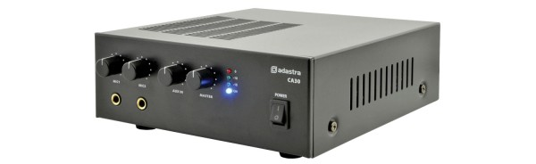 Adastra CA30 Compact Mixer-Amplifier, 30W @ 8 Ohm or 100V Line