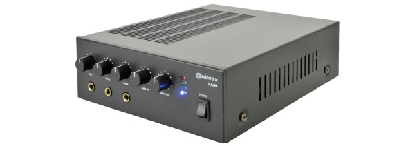 Adastra CA60 Compact Mixer-Amplifier, 60W @ 8 Ohm or 100V Line