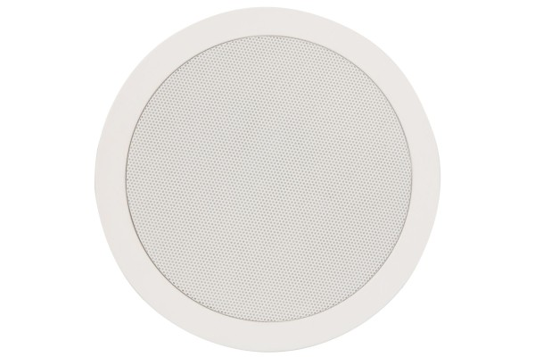 Adastra CC6V 6.5 Inch Ceiling Speaker, 50W @ 8 Ohms or 100V Line - White