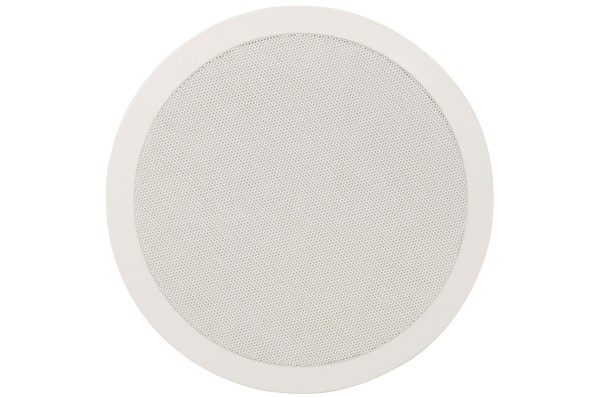 Adastra CC8V 8 Inch Ceiling Speaker, 60W @ 8 Ohms or 100V Line - White