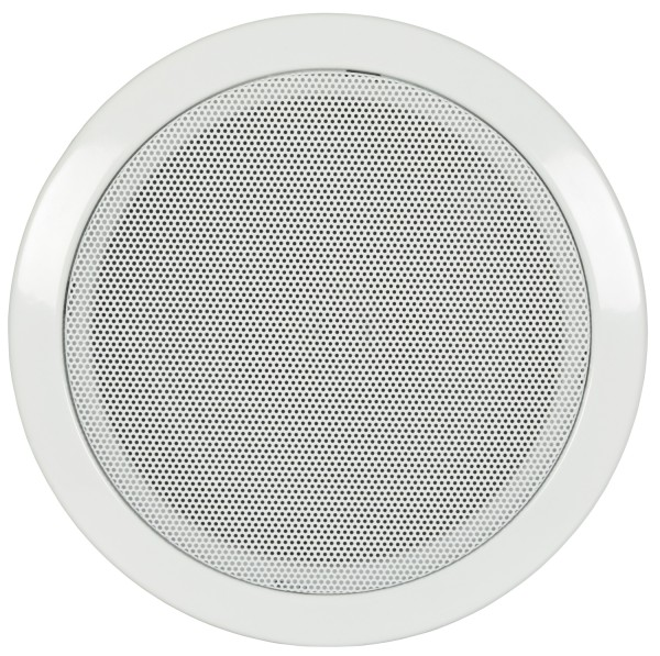 Adastra CF-5D 5.25 Inch Ceiling Speaker with Fire Dome, 0.75W / 1.5 W / 3W / 6W @ 100V Line - White