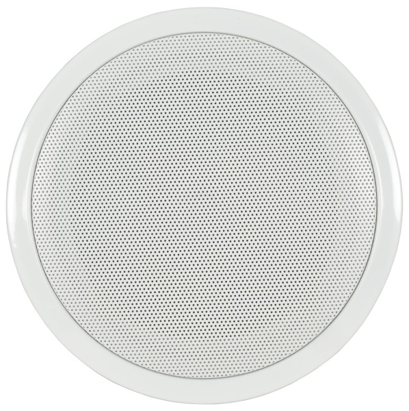 Adastra CF-6D 6.5 Inch Ceiling Speaker with Fire Dome, 0.75W / 1.5 W / 3W / 6W @ 100V Line - White