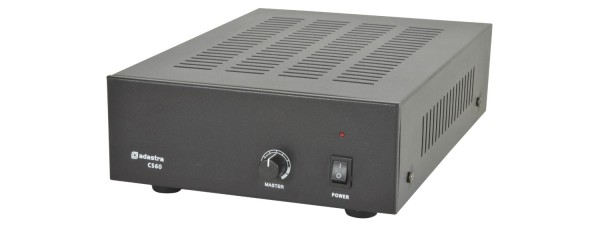 Adastra CS60 Compact Slave Amplifier, 60W @ 8 Ohm or 100V Line