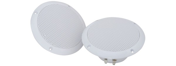 Adastra OD5-W8 5 Inch Water Resistant Ceiling Speaker Pair, IP35, 35W @ 8 Ohms - White