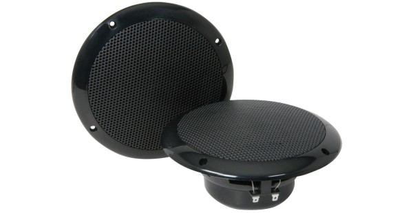 Adastra OD6-B8 6.5 Inch Water Resistant Ceiling Speaker Pair, IP35, 40W @ 8 Ohms - Black