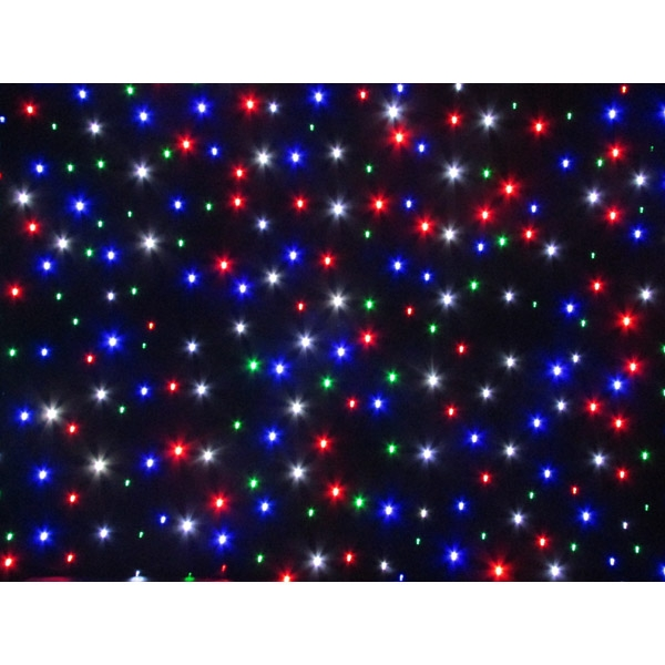 Visage RGBW LED Star cloth DMX 6 x 4m