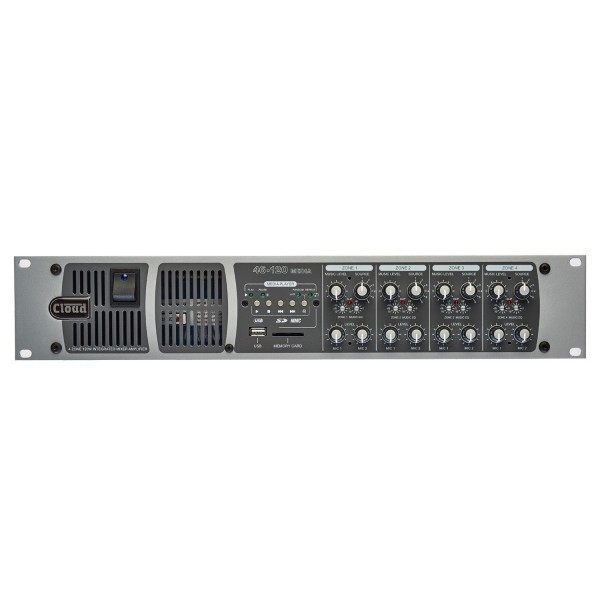 Cloud 46/120 Media, Four Zone Integrated Mixer Amplifier