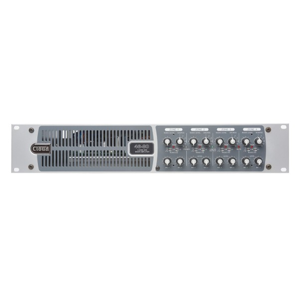 Cloud 46-80 Four Zone Integrated Mixer Amplifier, 80W @ 4 Ohms