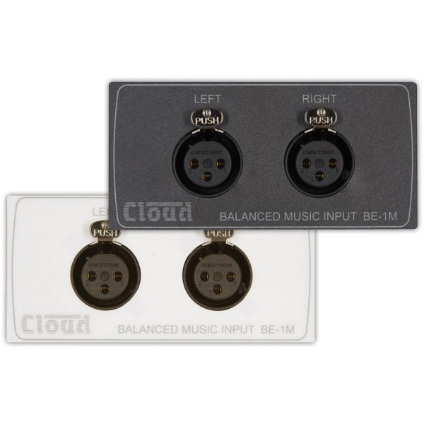 Cloud BE-1M Dual Balanced Input Module for DCM-1 and DCM-1e (Media Size)