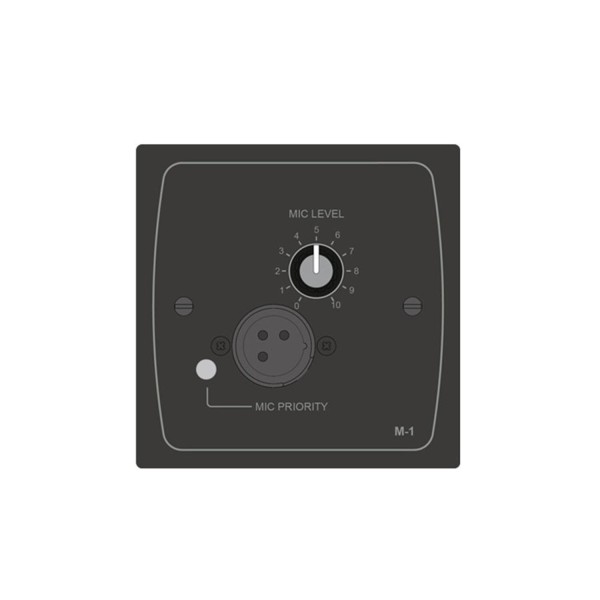 Cloud M-1B Microphone Level Active Input Plate - Black