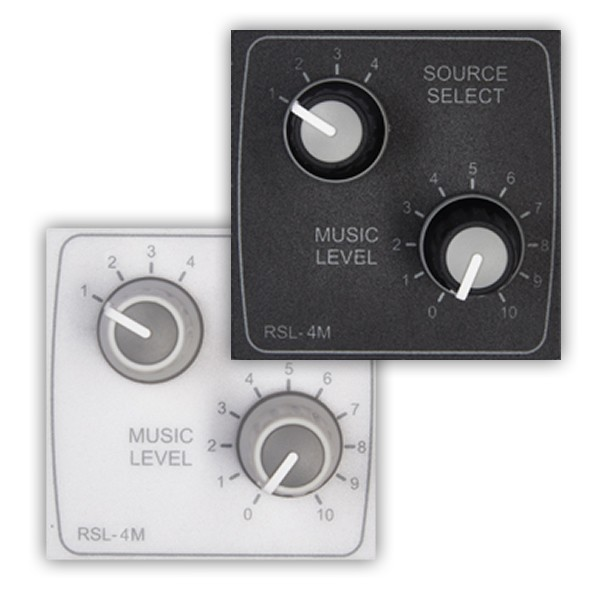 Cloud RSL-4M Remote Source Selector and Volume Control (Media Size)