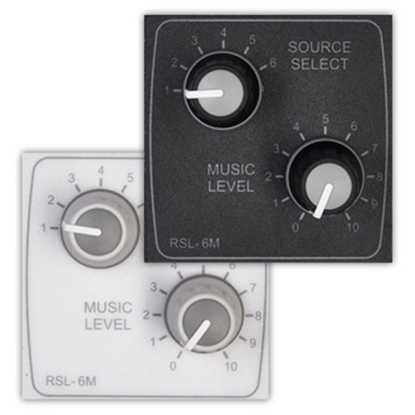 Cloud RSL-6M Remote Source Selector and Volume Control (Media Size)