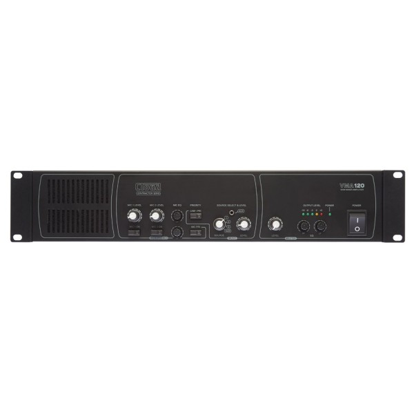 Cloud VMA120 Mixer Amplifier, 120W @ 4 Ohm or 100V Line