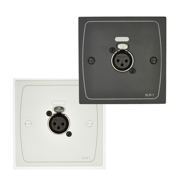 Cloud XLR-F1 Wall Plate With Female 3 Pin XLR