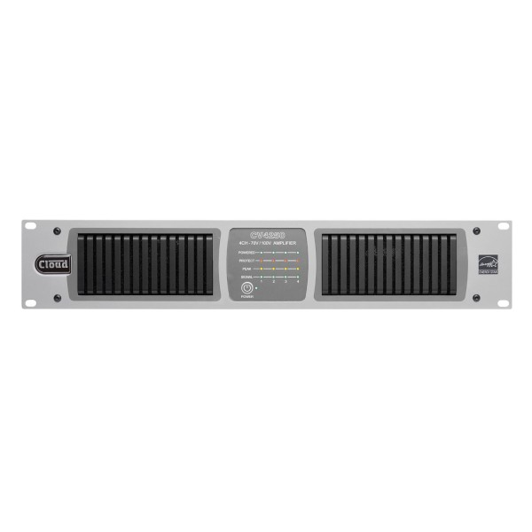 Cloud CV4250 4 Channel Amplifier with Internal DSP, 250W @ 70V / 100V Line