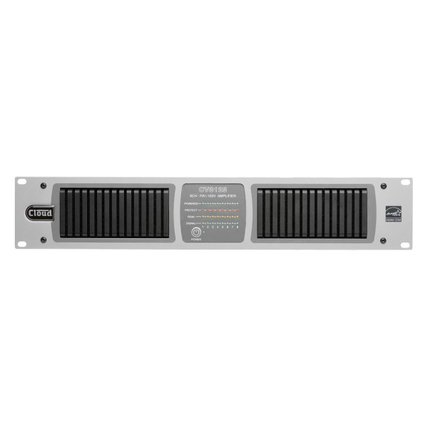 Cloud CV8125 8 Channel Amplifier with Internal DSP, 125W @ 70V / 100V Line