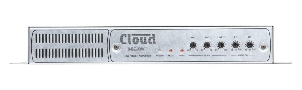 Cloud MA40T Mono Mini Amplifier, 40W @ 25V / 70V / 100V