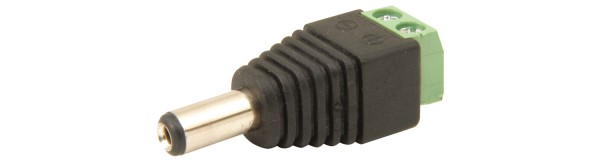 DC Plug to Screw Terminal Connectors - 2.1x5.5mm