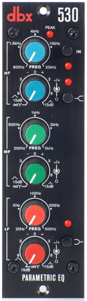 DBX 500 Series - 530 Parametric EQ