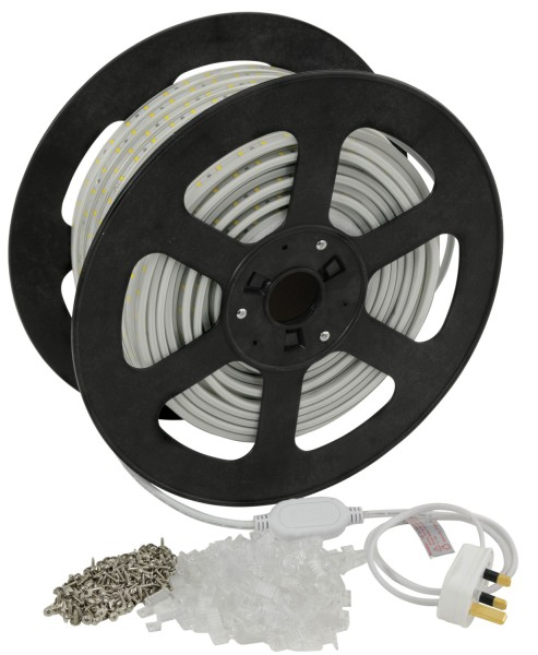 Fluxia 5730-50M-CW Cool White LED Strip, IP67, 50 metre reel with 60 LEDs per Metre