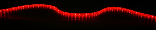 Fluxia LT12560-RD Red 12V LED Tape, IP65, 5 metre with 60 LEDs per metre