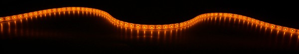 Fluxia LT12560-YW Yellow 12V LED Tape, IP65, 5 metre with 60 LEDs per metre