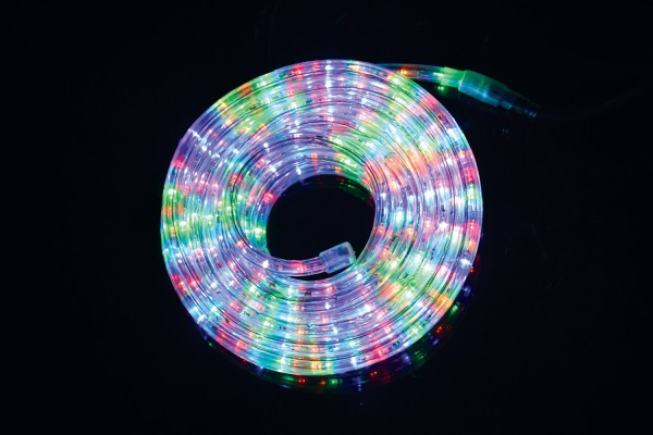 Fluxia RL360M Multicolour LED Rope Light Set with Controller, 10 metre
