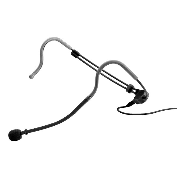 JTS CM-214iB Omni-directional Lightweight Headset Microphone - Black
