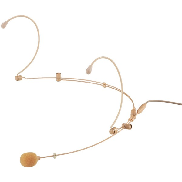 JTS CM-804iF Double Ear-hook Omni-Directional Microphone - Beige