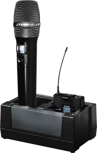 JTS G3CH-2 Charging station for JTS RU-G3TH Microphones and JTS RU-G3TB Body Packs