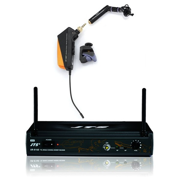 JTS Wireless Microphone System for Guitar & Wind Instruments - Channel 70