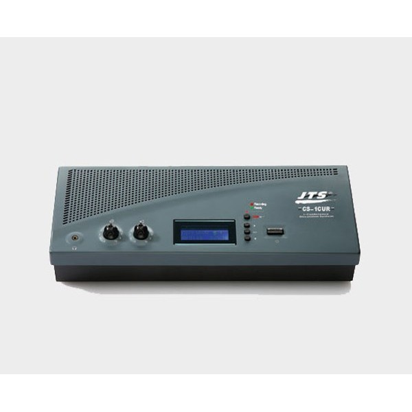 JTS CS-1CUR Control Station and Power Supply Unit with USB recorder function for Conferences