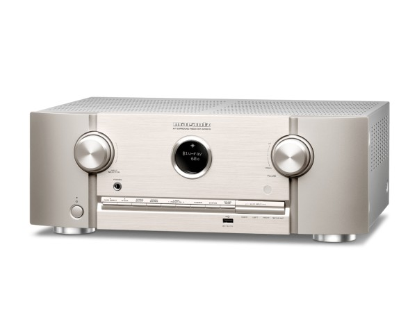 Marantz SR5015 7.2ch. 8K AV Receiver with 3D Sound and HEOS Built-in, Silver