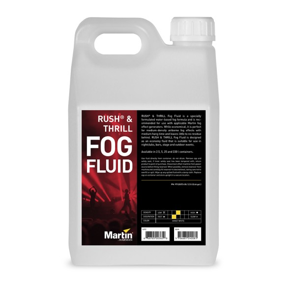 Jem / Martin RUSH & THRILL Fog Fluid - 20L