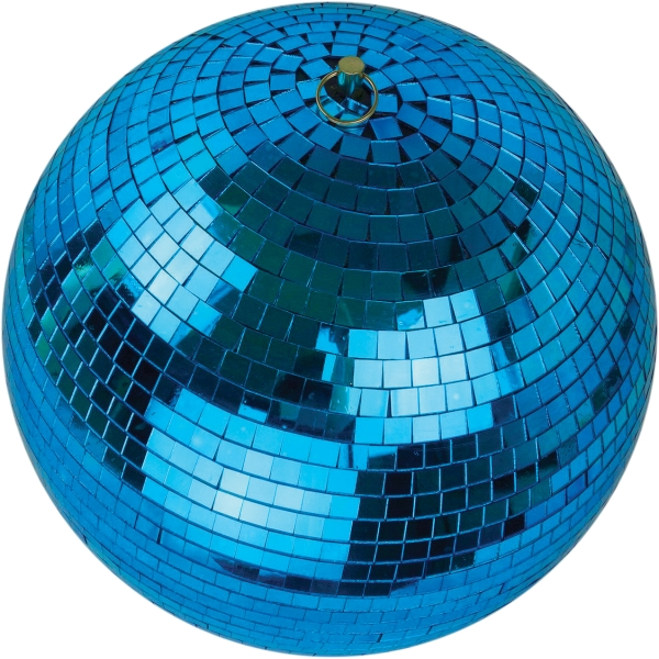 Blue Mirror Ball - 300mm