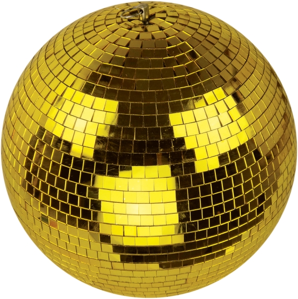 Gold Mirror Ball - 300mm