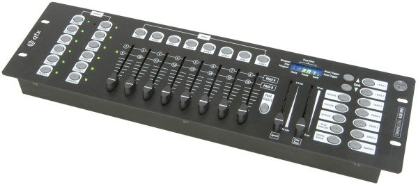 QTX DM-X10 DMX Lighting Controller, 192 Channels