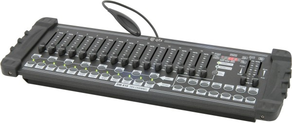 QTX DM-X18 DMX Lighting Controller, 384 Channels