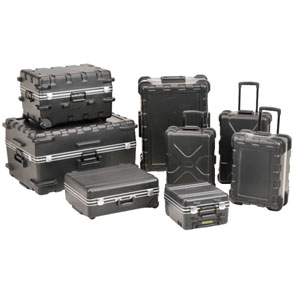 SKB Maximum Protection utilty and luggage Style Cases