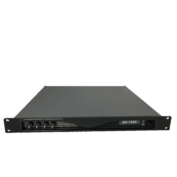 Vector B41200 4 x 1200W 2U Rack Mount Amplifier