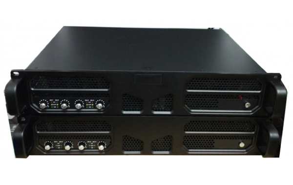 Vector DH4x600 4 x 600W 2U Rack Mount Power Amplifier