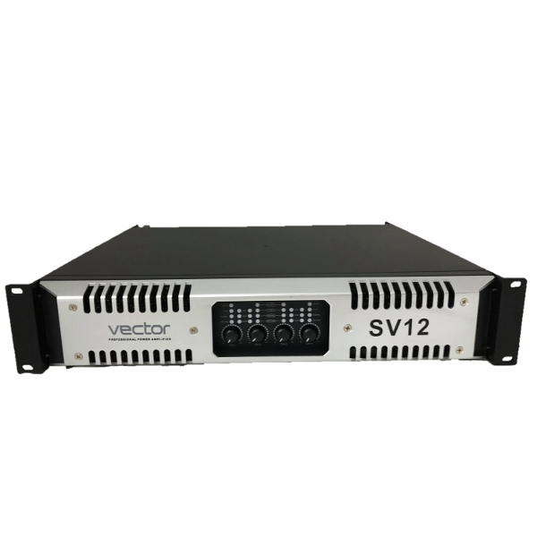 Vector SV12 4x1300W 2U Rack Mount Amplifier