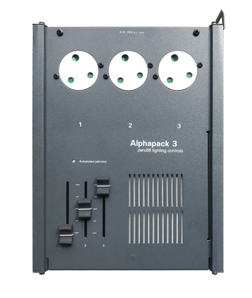 Zero 88 Alpha Pack DMX Dimmer with 3 x 15A UK